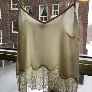 ☁️ Wilfred 100% silk Chimere Camisole in milk